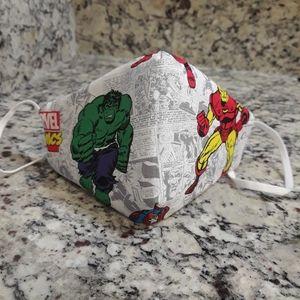 Mask hulk kid